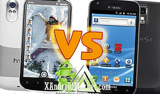 Samsung Galaxy S2 vs HTC Amaze 4G: Två Towers of T-Mobile och Talk of the Town