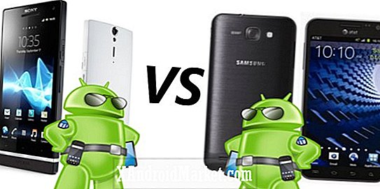 Samsung Galaxy S2 Skyrocket HD vs. Sony Xperia S