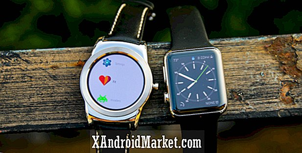 Comparación de software Android Wear vs. Apple Watch