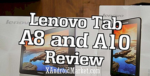 Lenovo IdeaTab A8 & A10 beoordeling