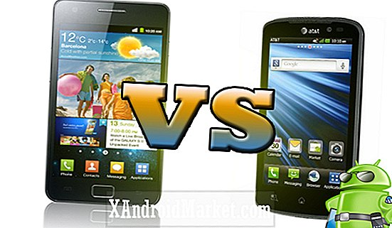 Samsung Galaxy S2 vs LG Nitro HD