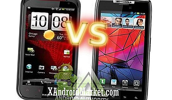 Motorola DROID RAZR vs HTC Rezound: LTE Superphone Superfight