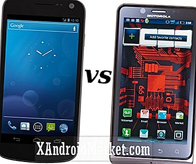 Motorola Droid Bionic vs Samsung Galaxy Nexus