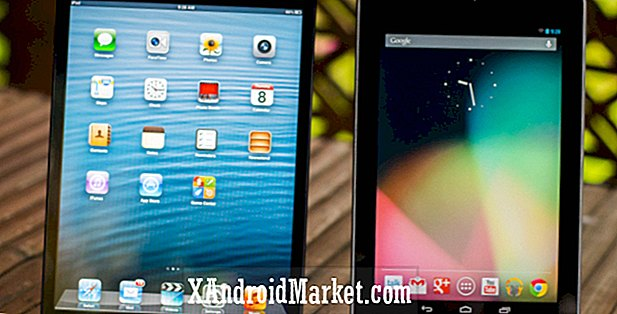 Apple iPad mini contre Google Nexus 7