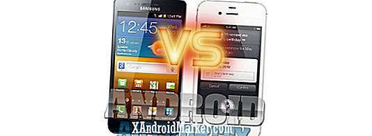 Samsung Galaxy S2 vs iPhone 4S