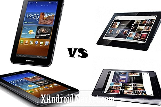 Galaxy Tab 7.0 versus Sony Tablet S