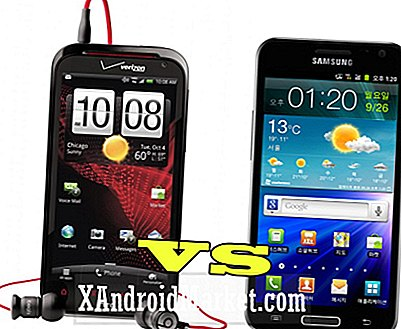 Galaxy S2 HD LTE contre HTC Rezound