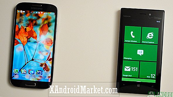 Samsung Galaxy S4 vs Nokia Lumia 928 (video)