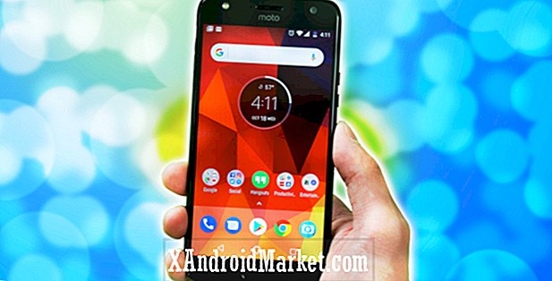 Moto X4 Android En recension: Retur av X