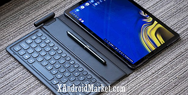 Samsung Galaxy Tab S4 hands-on: Dex kommer til at fungere