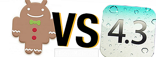 OS Face-Off: Android 2.3.3 Gingerbread Vs.  Apple iOS 4.3