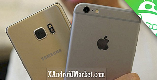 Samsung Galaxy Note 7 vs iPhone 6s Plus premier regard