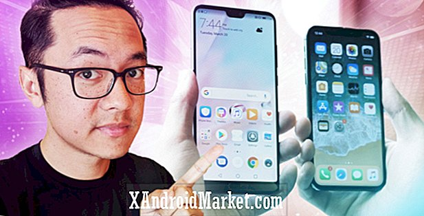 Huawei P20 Pro vs Apple iPhone X: Hækninger i massevis