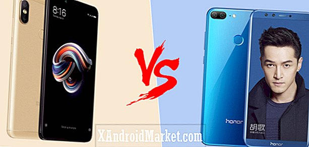 Xiaomi Redmi Note 5/5 Pro vs Honor 9 Lite: spesifikasjoner showdown