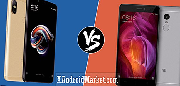 Xiaomi Redmi Note 5 / Pro vs Redmi Not 4: Specifikation showdown