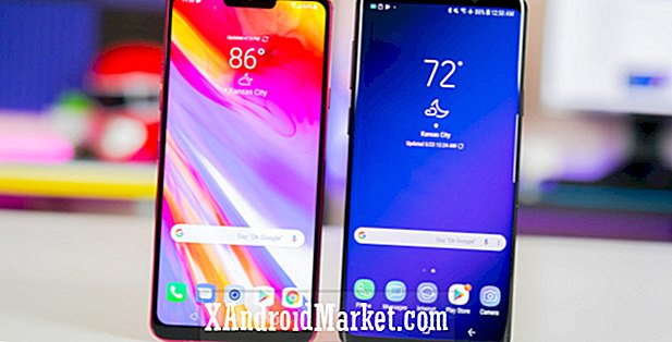 LG G7 ThinQ versus Samsung Galaxy S9 / S9 Plus