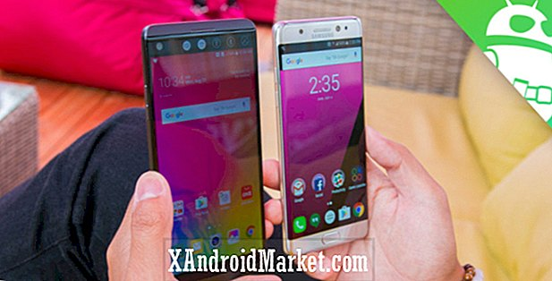 LG V20 vs Galaxy Note 7 coup d'oeil